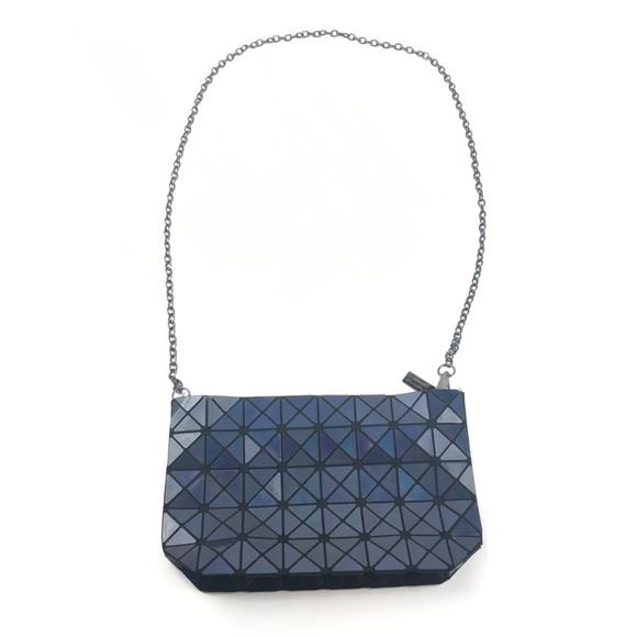 Issey Miyake Handbags - Bao Bao Issey Miyake Dark Blue Geometric Crossbody 471a9d94d4